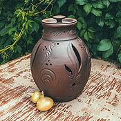 Посуда handmade. Livemaster - original item Onion storage bowl (5.5 l). Handmade.