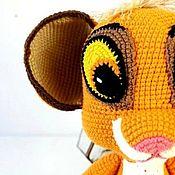 Куклы и игрушки handmade. Livemaster - original item The lion cub by MK Elena Belova.. Handmade.