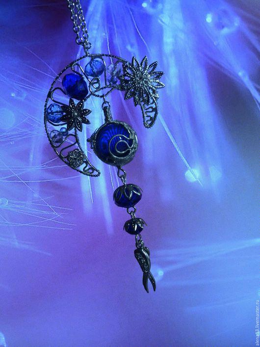 """Кулоны, подвески ручной работы. Ярмарка Мастеров - ручная работа. Купить Подвеска-кулон """"Тайны подлунного мира"""".. Handmade. луна"""