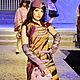 Платья ручной работы. Платье из войлока Мулен Руж. Robertelia -чудо-войлок. Ярмарка Мастеров. Оригинальное платье