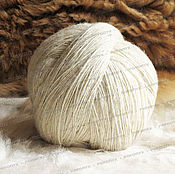 Материалы для творчества handmade. Livemaster - original item Yarns, wool, sheep light (1kg). Handmade.