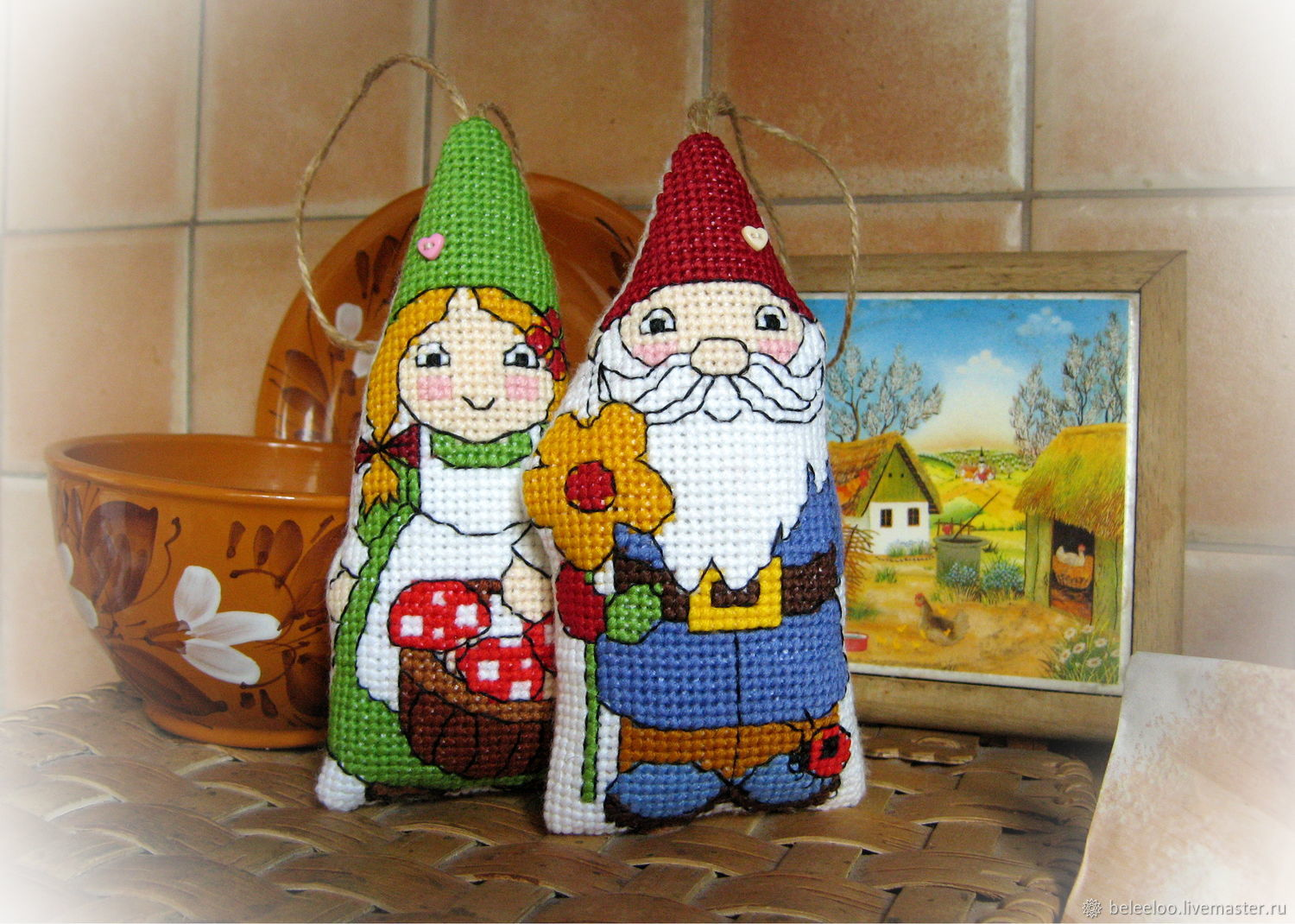 Garden gnomes, Stuffed Toys, Moscow,  Фото №1