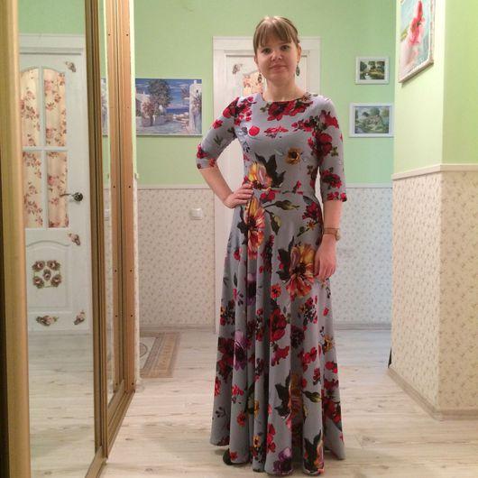 Платья ручной работы. Ярмарка Мастеров - ручная работа. Купить Романтичное платье. Handmade. Платье в пол, платье полу солнце
