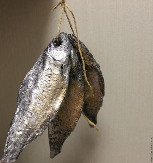 """Мыло ручной работы. Ярмарка Мастеров - ручная работа. Купить Мыло """"Сушеные воблы"""". Handmade. Золотой, рыбка, Закуска, мужчина"""