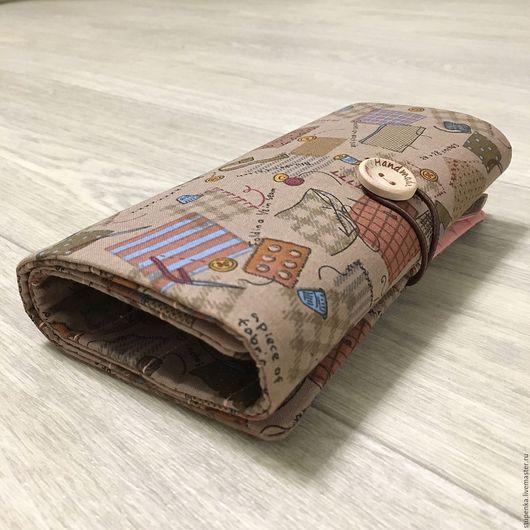 """Органайзеры для сумок ручной работы. Ярмарка Мастеров - ручная работа. Купить Органайзер для крючков с толстыми ручками """"Рукоделие"""". Handmade. рисунок"""