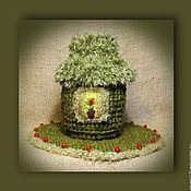 """Фен-шуй и эзотерика ручной работы. Ярмарка Мастеров - ручная работа Мешочек для Рун """"Домик Хоббита"""". Handmade."""