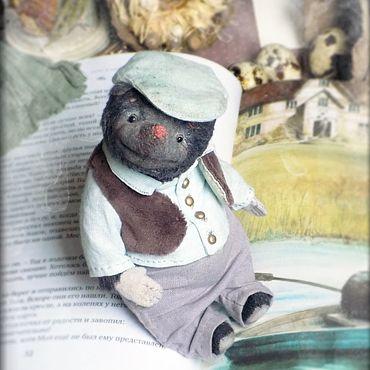 Куклы и игрушки ручной работы. Ярмарка Мастеров - ручная работа Mr. Mole, крот Тедди. Handmade.