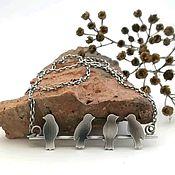 Украшения handmade. Livemaster - original item Necklace of silver