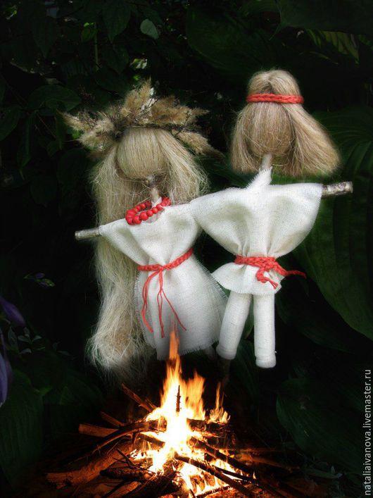 Народные куклы ручной работы. Ярмарка Мастеров - ручная работа. Купить Ивано-Купальская. Handmade. Белый, молодость, лён