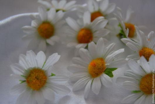 РОМАШКИ  размер цветочка -4,5 см Цена: 1 шт - 12 рублей