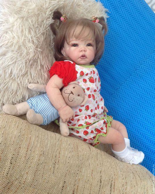 Куклы-младенцы и reborn ручной работы. Ярмарка Мастеров - ручная работа. Купить Малышка Маруся.. Handmade. Синий, молд реборн
