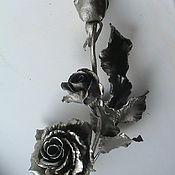 Для дома и интерьера ручной работы. Ярмарка Мастеров - ручная работа Наконечник для карнизов гобеленов Роза. Handmade.
