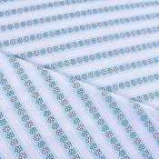 Материалы для творчества handmade. Livemaster - original item Calico children`s striped cotton with flowers. Handmade.