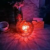 Для дома и интерьера handmade. Livemaster - original item Table Geometric lamp Sphere Honeycomb. Handmade.