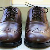 Обувь ручной работы. Ярмарка Мастеров - ручная работа Оксфорды Мужские. Handmade.