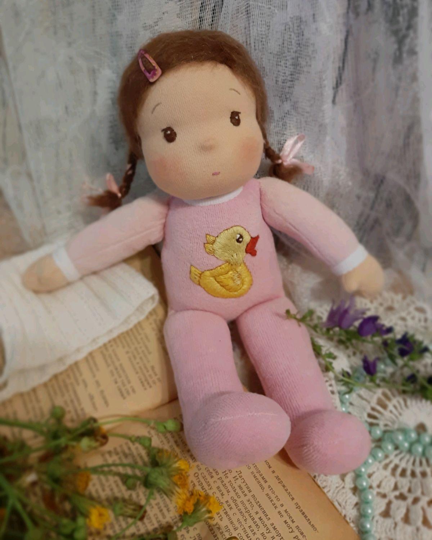 Вальдорфская кукла Оленька, Вальдорфские куклы и звери, Верхний Уфалей,  Фото №1