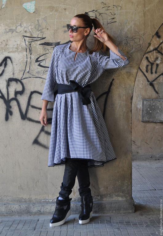 Платье туника с длинным рукавом с доставкой