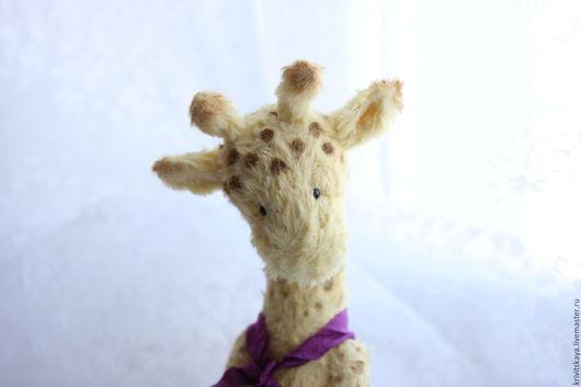 Мишки Тедди ручной работы. Ярмарка Мастеров - ручная работа. Купить Диди. Handmade. Желтый, вискоза Германия