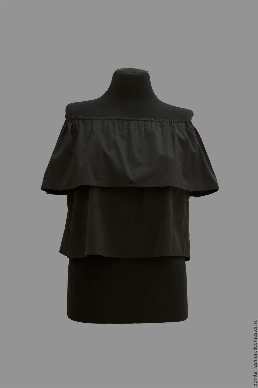 блузки из плотной ткани