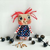 Куклы и игрушки ручной работы. Ярмарка Мастеров - ручная работа Примитивные куклы малышки. Handmade.