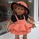 """Одежда для кукол ручной работы. """"Осенний гномик"""". Одежда для куклы. Гардероб для куклы (volkodavna). Интернет-магазин Ярмарка Мастеров."""