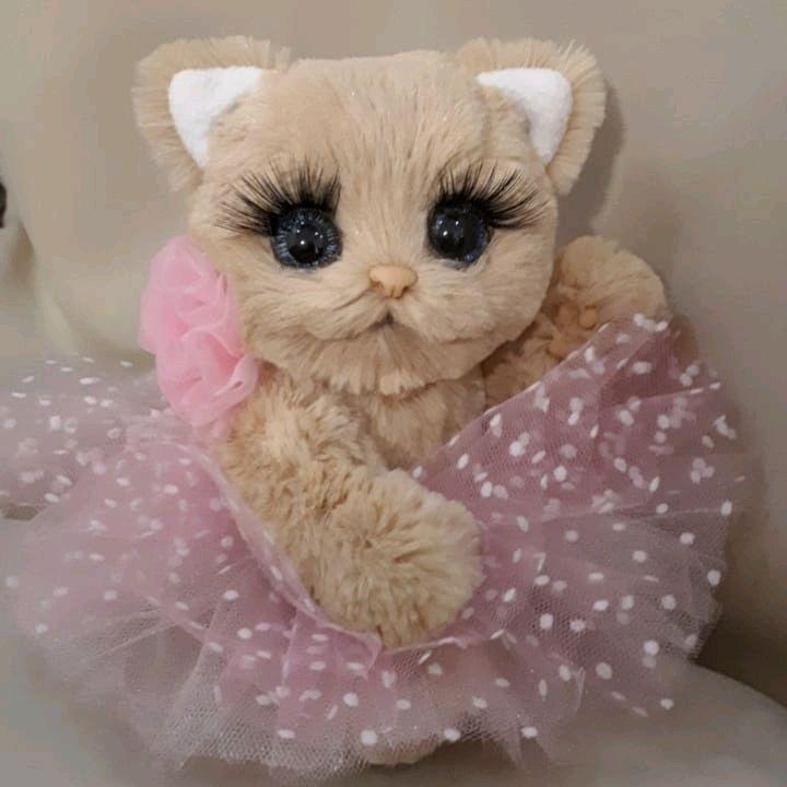 Кошечка с ресницами, Мягкие игрушки, Кстово,  Фото №1