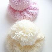 """Одежда для кукол ручной работы. Ярмарка Мастеров - ручная работа Шапочка """"зефирка"""" для текстильной куклы.. Handmade."""