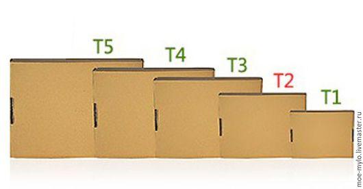 Упаковка ручной работы. Ярмарка Мастеров - ручная работа. Купить Коробка из гофрокартона 15х15х5 (Т1). Handmade. Белый, гофрокартон, чернила