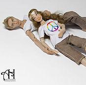 Куклы и игрушки handmade. Livemaster - original item Yaroslav and Arya (12,5/13,5 cm). Handmade.