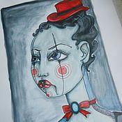 Картины и панно ручной работы. Ярмарка Мастеров - ручная работа Циркачка Рита. Handmade.