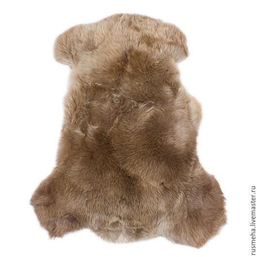 Текстиль, ковры ручной работы. Ярмарка Мастеров - ручная работа. Купить Шкура овчины с ворсом Код: 602. Handmade. Бежевый