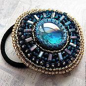 Украшения handmade. Livemaster - original item Elastic hair band beads embroidery. Handmade.