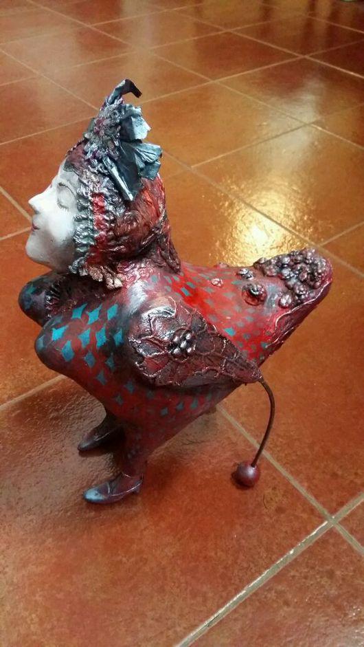 """Коллекционные куклы ручной работы. Ярмарка Мастеров - ручная работа. Купить Кукла """" птица - радость """". Handmade."""