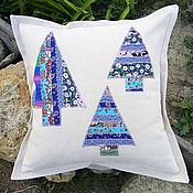 Для дома и интерьера handmade. Livemaster - original item Christmas pillow. Handmade.