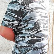 """Одежда ручной работы. Ярмарка Мастеров - ручная работа Футболка мужская """" Камуфляж"""". Handmade."""