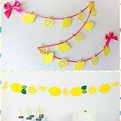 Подарки к праздникам ручной работы. Ярмарка Мастеров - ручная работа Лимонад и лимон. Handmade.