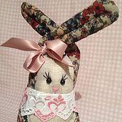 Куклы и игрушки ручной работы. Ярмарка Мастеров - ручная работа Зайка (18 см - по макушке). Handmade.