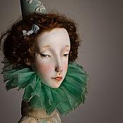 Куклы и игрушки ручной работы. Ярмарка Мастеров - ручная работа Авторская кукла Августина. Handmade.