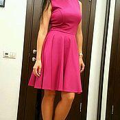 Одежда ручной работы. Ярмарка Мастеров - ручная работа Платье розовое. Handmade.