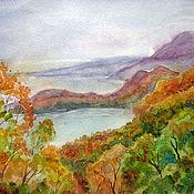 Картины и панно ручной работы. Ярмарка Мастеров - ручная работа Осень Камчатка. Handmade.
