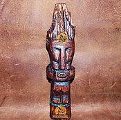 Фен-шуй и эзотерика ручной работы. Ярмарка Мастеров - ручная работа Деревянный идол Кулай. Handmade.