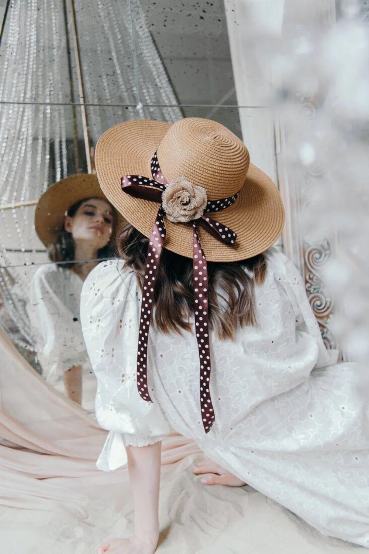 Соломенная летняя женская шляпа, Шляпы, Москва,  Фото №1