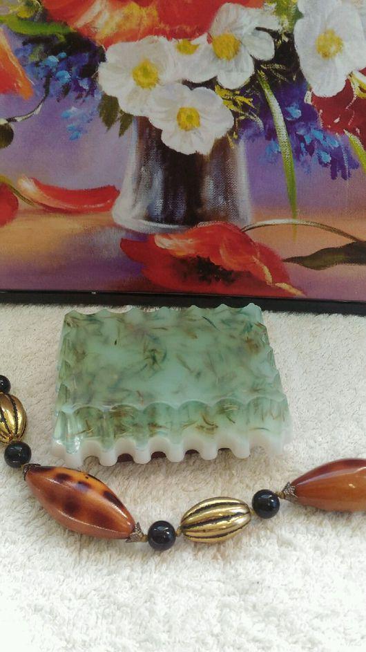 Мыло ручной работы. Ярмарка Мастеров - ручная работа. Купить Мыло с сухоцветами василька. Handmade. Мыло ручной работы