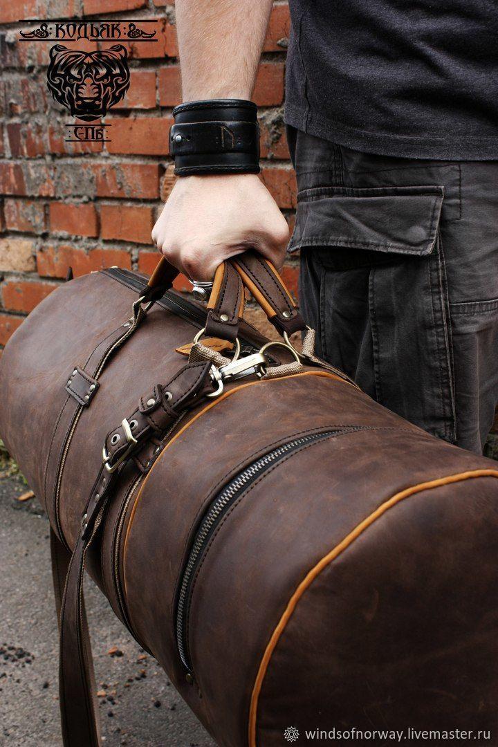 Сумка спортивная из кожи, Спортивная сумка, Санкт-Петербург,  Фото №1