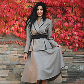 Одежда handmade. Livemaster - original item Business suit with a skirt