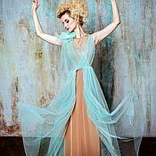 Одежда ручной работы. Ярмарка Мастеров - ручная работа Нежное вечернее платье в стиле Бохо.. Handmade.