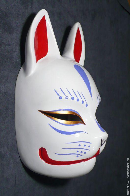 Маска Кицунэ (Kitsune), роспись версии 1.4