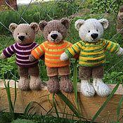 Куклы и игрушки ручной работы. Ярмарка Мастеров - ручная работа Медведь вязаный большой. Handmade.