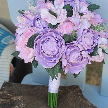 Свадебный салон ручной работы. Ярмарка Мастеров - ручная работа Букет невесты , Свадебный букет из фоамирана , букет невесты с пионами. Handmade.