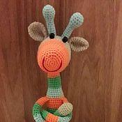 Мягкие игрушки ручной работы. Ярмарка Мастеров - ручная работа Мягкие игрушки для малышей. Handmade.